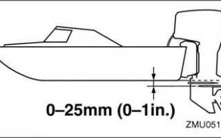 Нога лодочного мотора