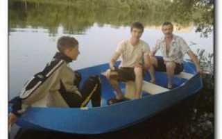 Лодка пвх своими руками видео