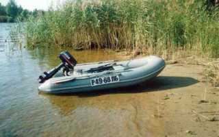 Лодочный мотор selva
