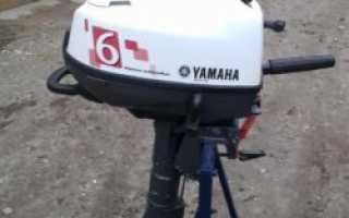 Лодочный мотор ямаха 6
