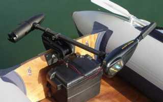 Акб для лодочных электромоторов