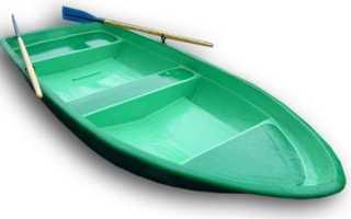 Пластиковые лодки российского производства