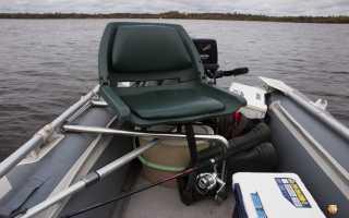 Сиденье для резиновой лодки своими руками