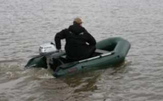 Надувная лодка под мотор 5 л с