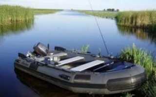 Как выбрать резиновую лодку для рыбалки