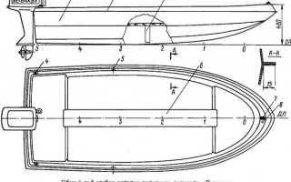 Лодка своими руками чертежи