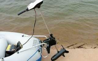 Электрический лодочный мотор как выбрать