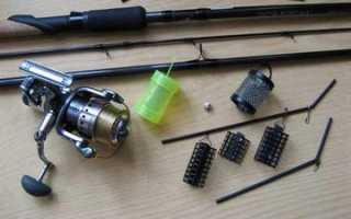 Рыболовная снасть фидер