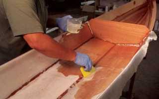 Эпоксидная смола для ремонта лодок