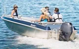 Виды моторных лодок