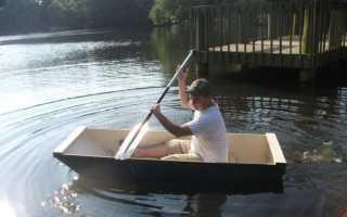 Простая лодка своими руками