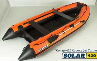 Надувные лодки под водометный мотор