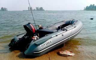 Киль на лодку пвх