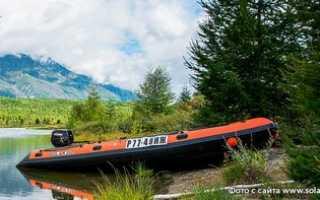 Лодка солар 380
