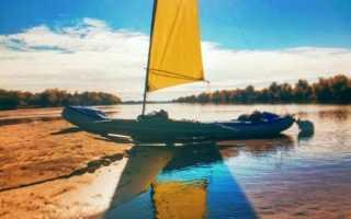 Парус на лодку пвх