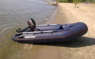 Замена транца на лодке пвх своими руками