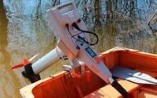 Электрический двигатель для лодки