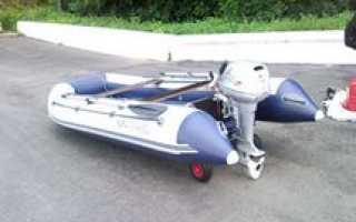 Колеса на транец лодки