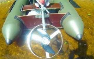 Лодочный мотор из шуруповерта
