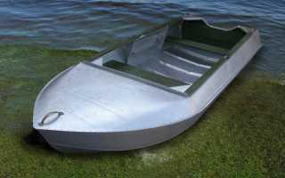 Лодка алюминиевая романтика