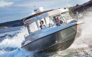 Выход на глиссер лодки пвх