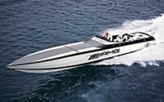 Максимальная скорость катера