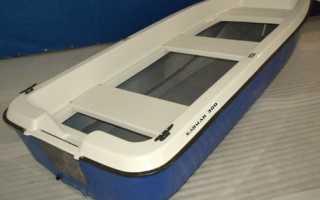 Стеклопластиковая лодка кайман 300
