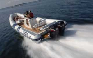 Два мотора на лодке пвх