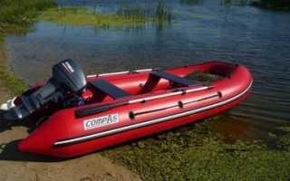 Лодка компас 380