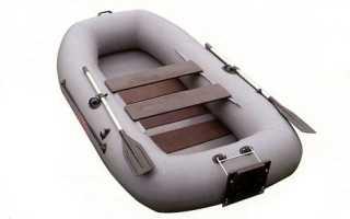 Одноместная надувная лодка для рыбалки