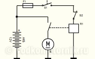 Электростартер для лодочного мотора
