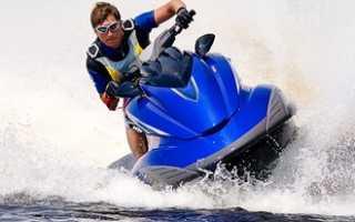 Права на водный мотоцикл