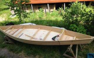Лодка своими руками видео