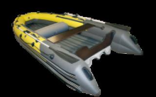 Лодка скат