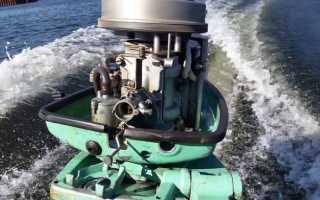Лодочный мотор ветерок 8м