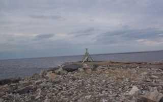 С палаткой на белое море