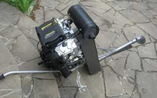 Самодельный мотор для лодки