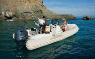 Мотор для лодки ямаха