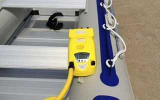 Насос для лодки с аккумулятором