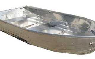 Лодки металлические под мотор