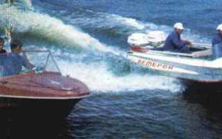 Лодка обь м