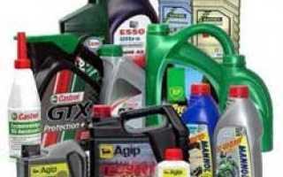 Синтетическое масло для двухтактных двигателей