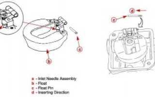 Карбюратор лодочного мотора