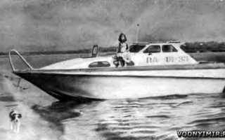 Самодельная лодка из пластика