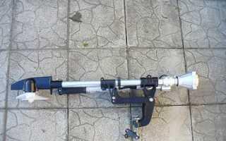 Лодочный мотор из газонокосилки