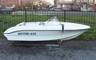 Лодка нептун 450