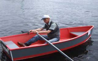 Самодельная лодка из фанеры чертежи под мотор