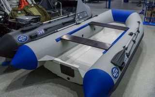 Надувная лодка с пластиковым дном