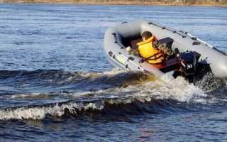 Одноместная лодка для рыбалки