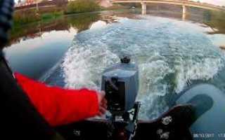 Лодочный мотор ямаха 2 л с видео